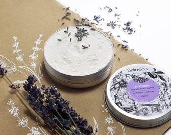Lavender Body Butter -  Shea Body Butter - Organic Body Butter - Antistress Cosmetics - Butter - Uplifting - Natural Cosmetics - Organic
