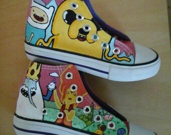 SALE! Washable Kids Donnay Adventure Time Shoes C10