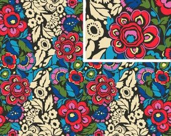 Trapeze - CHARCOAL - PER 25CM - Amy Butler - HAPI - PWAB126 - 100% Cotton Quilt Fabric