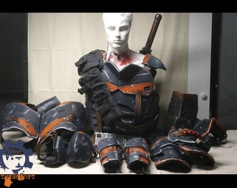 Deathstroke Inspired Fullbody EVA Armor - comfortable, flexible, lightweight, custom made to fit your size, order all together or in parts