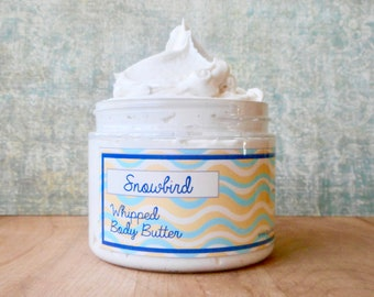 Snowbird Whipped Body Butter - Limited Edition Spring Scent