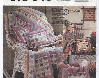 McCalls 3762 - Quilt, Pillows, Wall Hanging, Tote Bag, Aprons with Panel Fabric