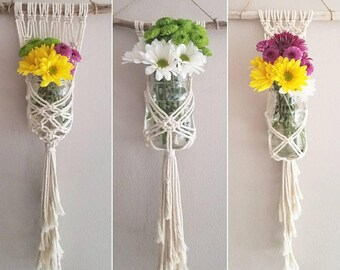 Macramé Flower Holder