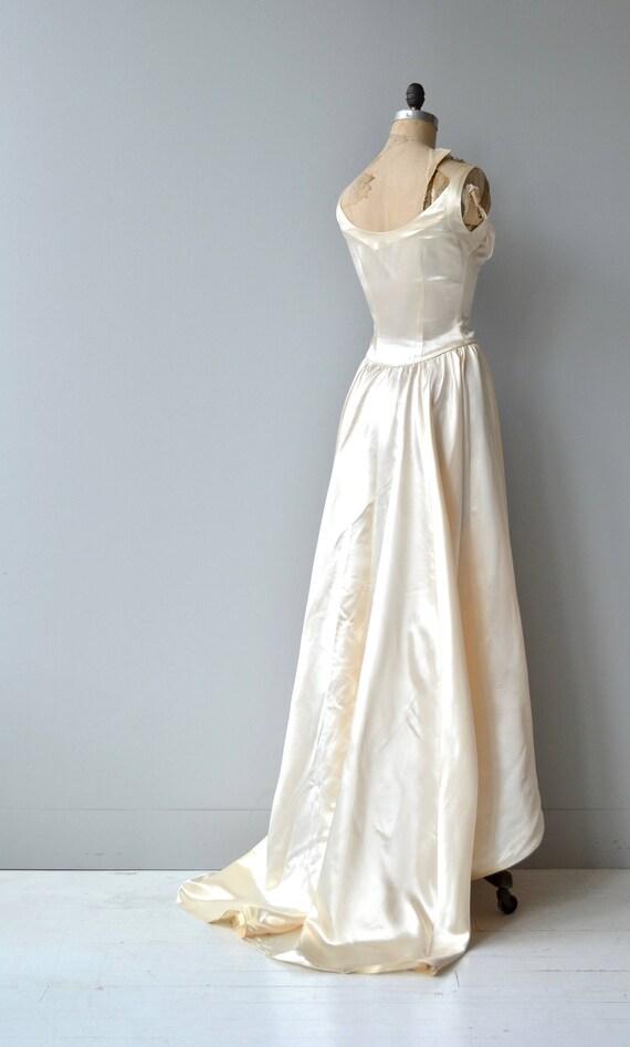 Archetyphia Brautkleid Jahrgang 1940er Jahre Brautkleid