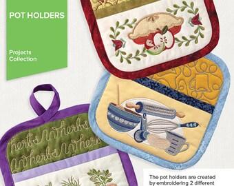 Anita Goodesign cd Embroidery potholders
