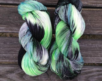Hand Dyed Sock, Shawl Yarn