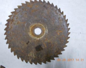 Vintage Rustic Sawblade