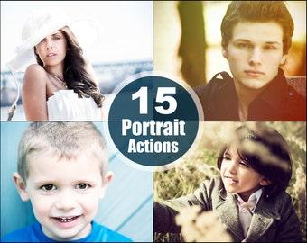 Portrait Photoshop Elements Actions