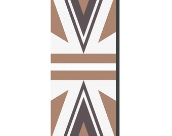 The Capricorn - yoga mat bridesmaids gift idea for a health nut health and well being fitness mat geometric print