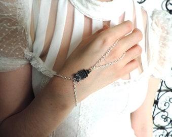 Slave Bracelet: Silver OWL