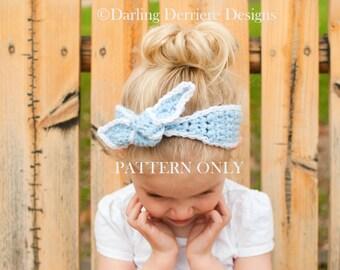 PDF Instant Download Knot Headband Pattern