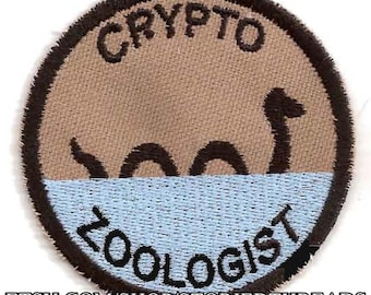 Cryptozoologist Geek Merit Badge Patch