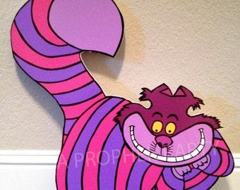 Alice in Wonderland -  Wonderland Party - Wonderland Birthday - Cheshire Cat - Wonderland Prop - Yard Display - Room Decor - Onederland
