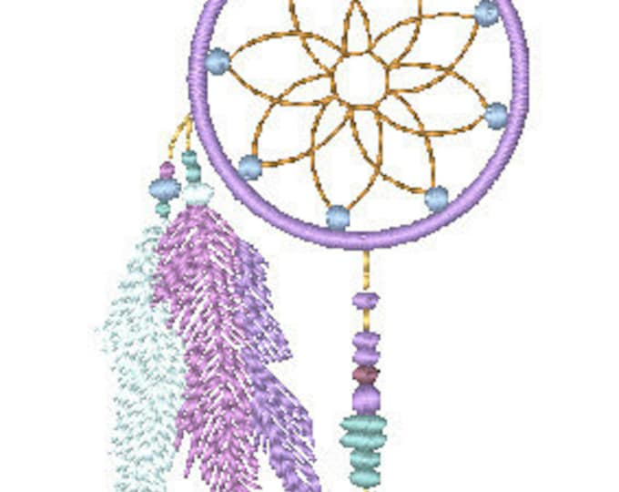 Dream-Catchers  ( 8 Machine Embroidery Designs from ATW )