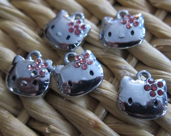 Cat Charm - Pack of Five