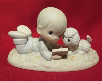 """Precious Moments """"I Love to Tell the Story"""" Special Edition PM-852 Dove 1984"""