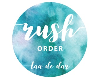 Rush Order for Digital Files - Add On
