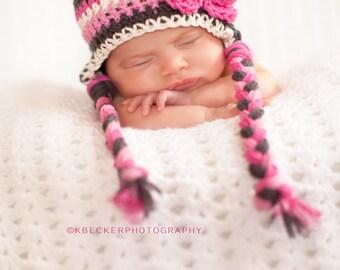 newborn girl hat, baby hat, newborn hat, newborn hat, little girls hat, baby girl hat, newborn girls hat, crochet kids hat, baby girl hat