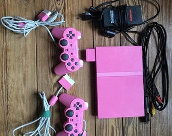 Retro gaming PlayStation 2 rose collector