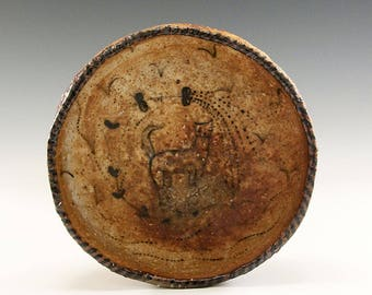 Larger Hand Pinched Wood Fired Bowl by Jenny Mendes - Cat In The Rain