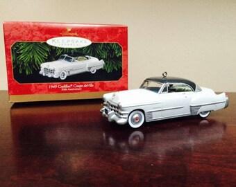 Hallmark Keepsake Christmas Ornament, 1949 CADILLAC Coupe De Ville, 50th Anniversary