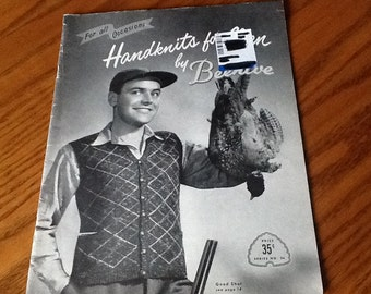 Beehive - HANDKNITS FOR MEN - Knitting Patterns Only