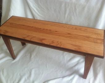 Reclaimed  Birch Wood Coffee Table
