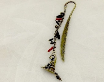 Wizard Hat Beaded Bookmark