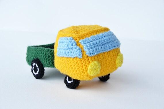 Amigurumi Patterns Cars : Pickup truck crochet pattern pickup crochet pattern pickup car