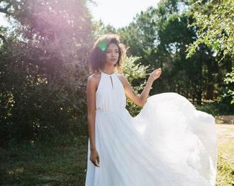 Winston Dress // silk chiffon wedding dress
