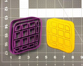 Waffle 266-123 Cookie Cutter