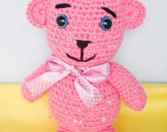 Big pink Teddy Bear - only one item!