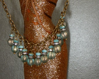 Blue Waters Necklace-NSC-220