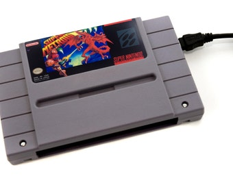 SNES Hard Drive - Super Metroid  USB 3.0