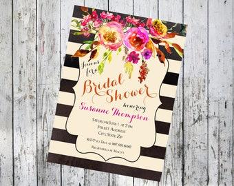Automne Bridal Shower Invitation