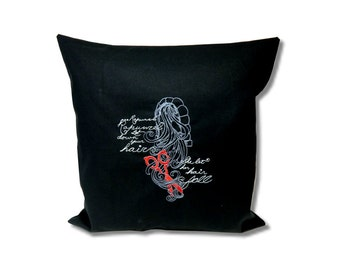 Dark Fairytale Cushion Rapunzel