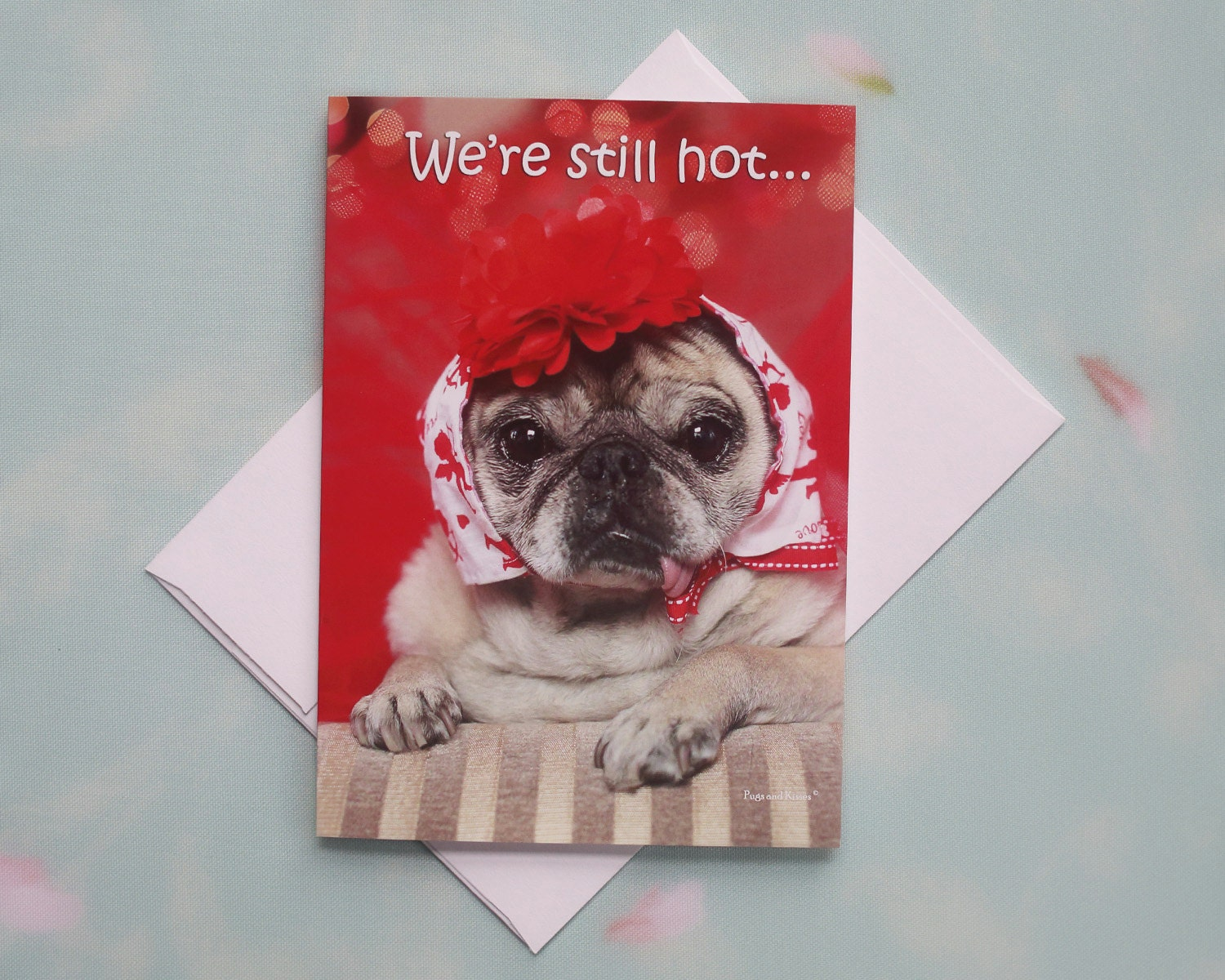 Funny birthday card for her hot flash happy birthday card by funny birthday card for her hot flash happy birthday card by pugs and kisses bookmarktalkfo Gallery