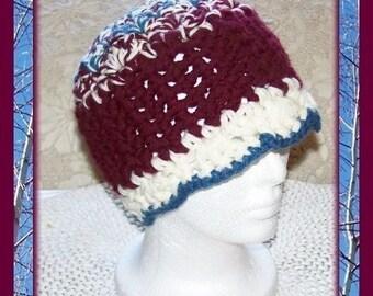 Ashlynn's Winter Hat Crochet Pattern by Cindy Kamps