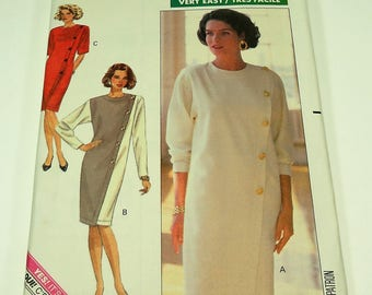 Butterick Misses' Dress Pattern 4455 Size 18 - 20 - 22 Very Easy