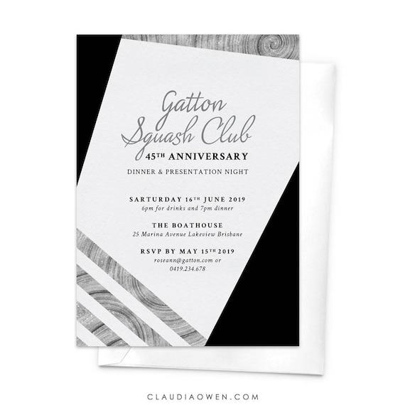 Business invitation anniversary dinner awards night work like this item stopboris Images