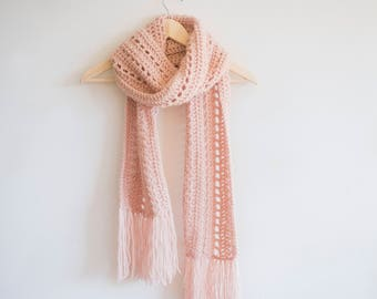 PDF Crochet Pattern for The Andie Scarf - Bulky Crochet Scarf