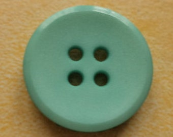 13 turquoise buttons 20mm (3409) jacket buttons