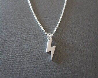 Silver Thunder Necklace
