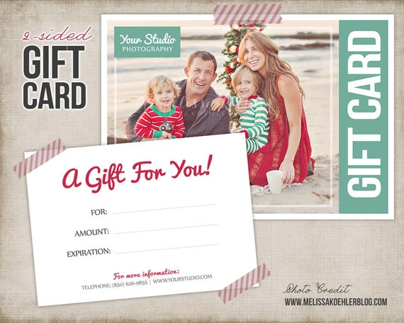 Gift card template digital gift certificate photoshop template gift card template digital gift certificate photoshop template camera photographer gift card certificate instant download from studiotwentynine on yelopaper Gallery