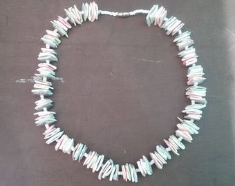 Beach Shell necklace vintage