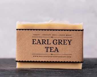 Earl Grey Tea Soap | Vegan Soap