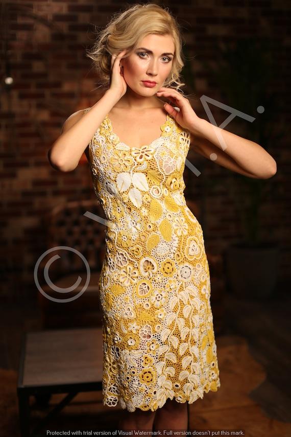 Dress Chrysanthemum - Summer Crochet