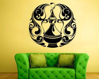 amphora wall decals amphora wall art amphora wall decor bowl wall decor bowl wall art vessel wall art (Z671)