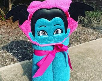 Vamerina Inspired Hooded Towel