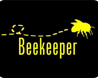 Beekeeping Sticker Beekeeper Car Sticker Bee Sticker Vinyl Decal